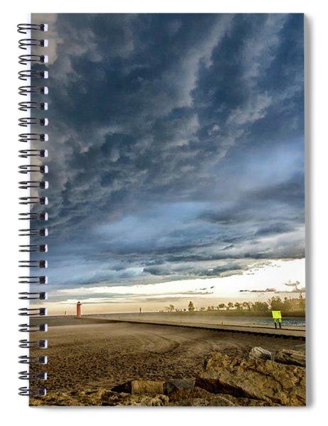 Approaching Storm Spiral Notebook