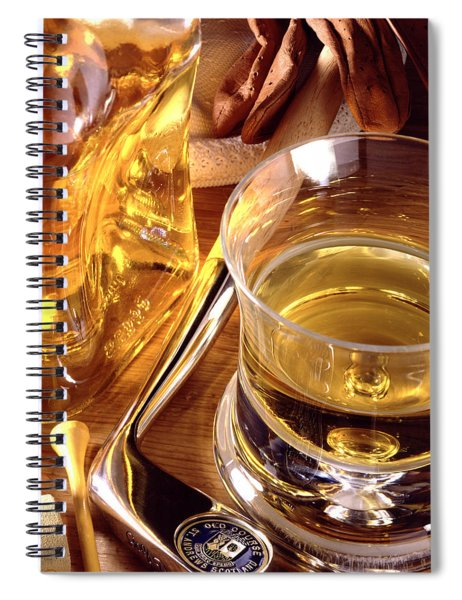 Apres Golf Spiral Notebook