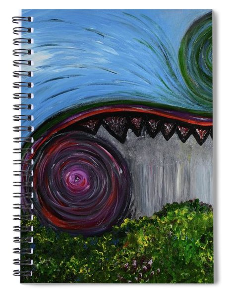 April May June Spiral Notebook