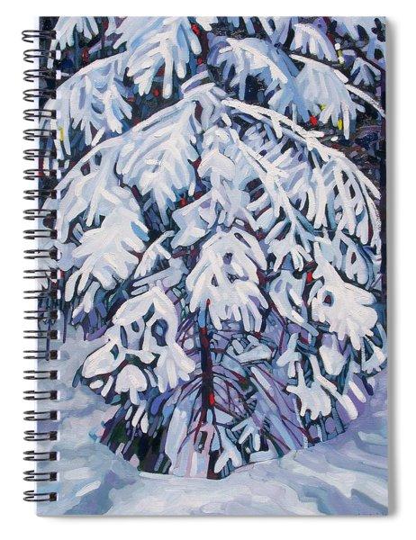 April Snow Spiral Notebook
