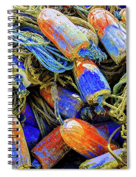 Aqua Hedionda Spiral Notebook