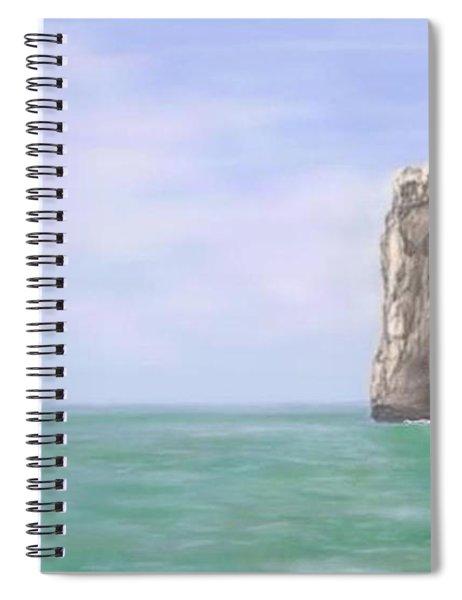 Aqua Sea Spiral Notebook