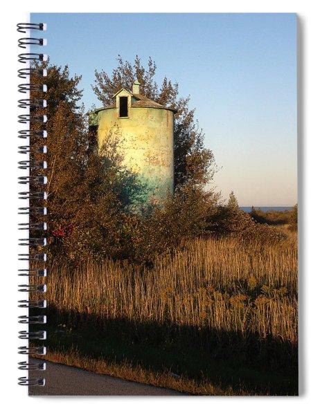 Aqua Silo Spiral Notebook