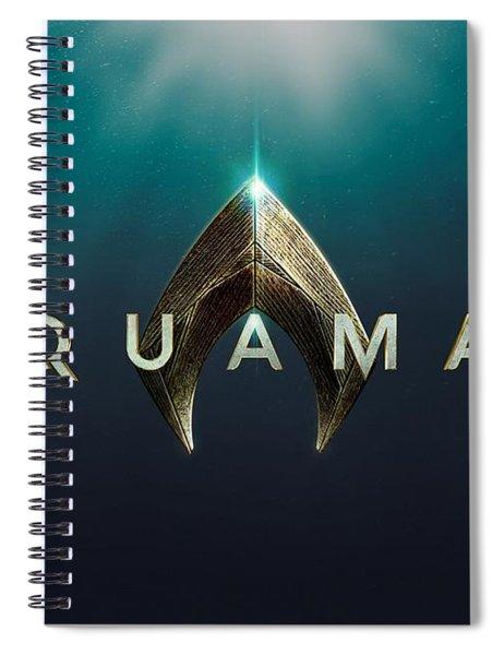 Aquaman Spiral Notebook