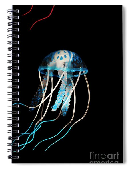 Aquarium Blue Spiral Notebook
