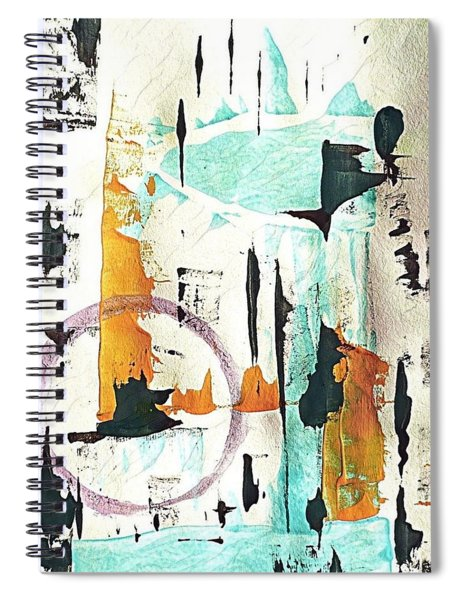 Aquarius  Spiral Notebook