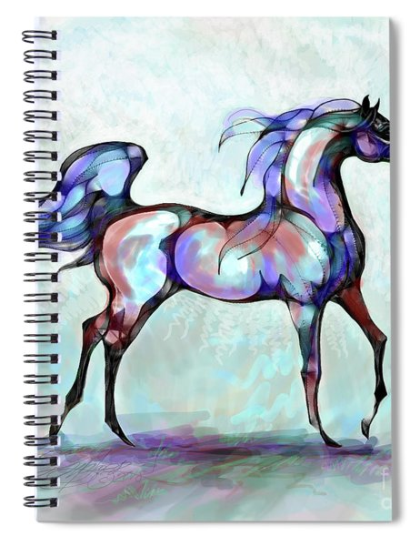 Arabian Horse Overlook Spiral Notebook