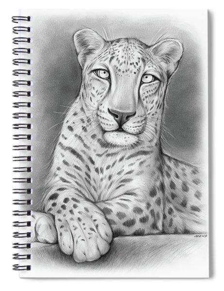 Arabian Leopard Spiral Notebook