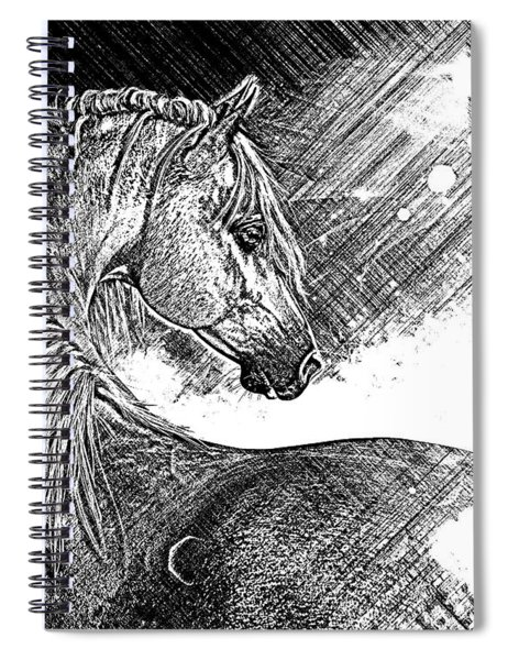 Arabian Sunrise Sketch Spiral Notebook