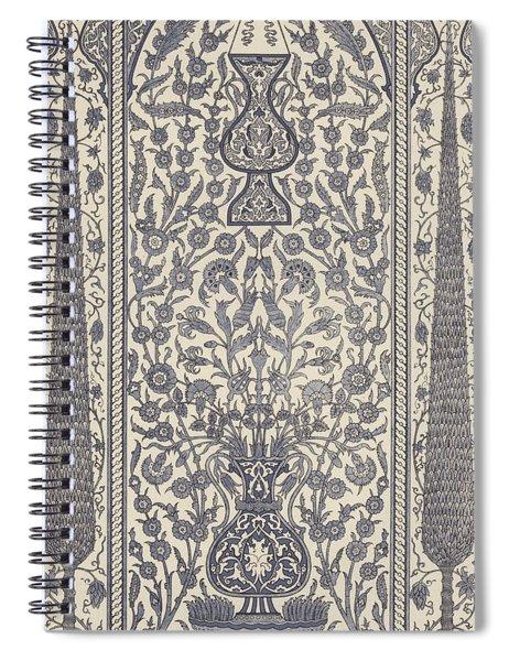 Arabian, Wainscot Spiral Notebook