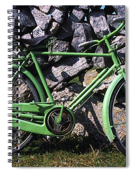 Aran Islands, Co Galway, Ireland Bicycle Spiral Notebook