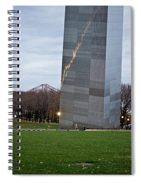 Arch Meet Ground Spiral Notebook