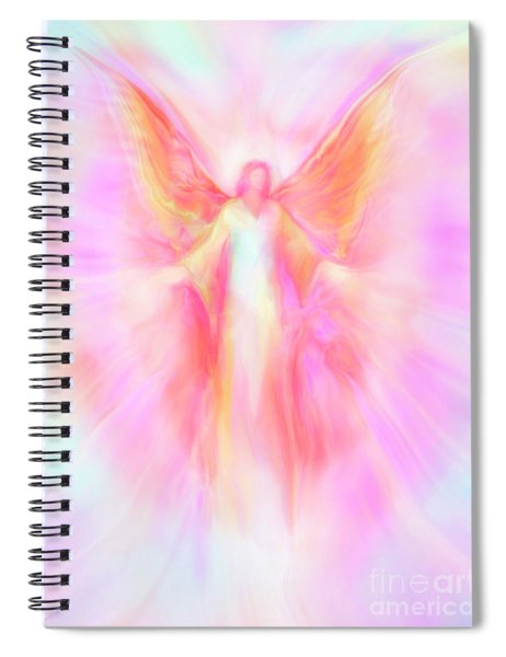 Archangel Metatron Reaching Out In Compassion Spiral Notebook
