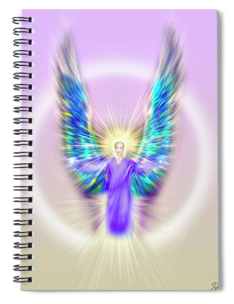 Archangel Michael - Pastel Spiral Notebook