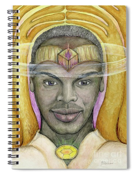 Archangel Raphael Spiral Notebook