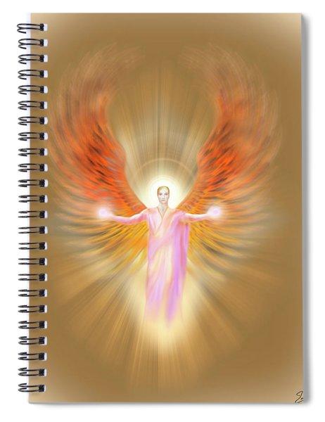 Archangel Raphael - Pastel Spiral Notebook
