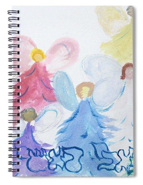 Archangels    Malchei Roshei Spiral Notebook