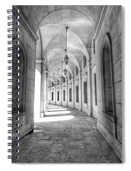 Arched Spiral Notebook