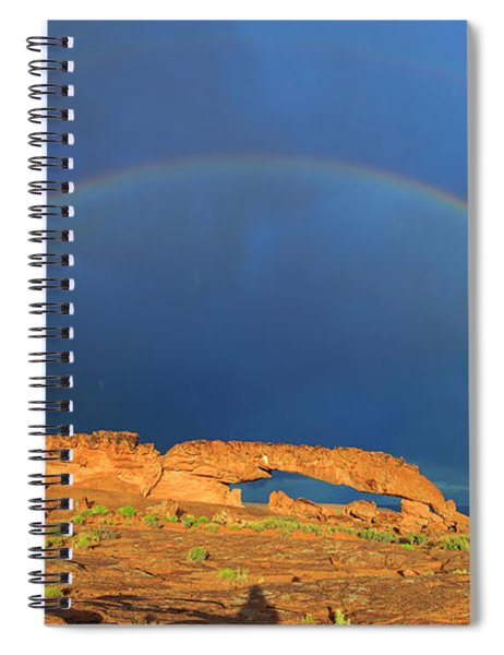 Arches Over The Arch Spiral Notebook
