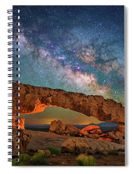 Arching Over The Arch Spiral Notebook