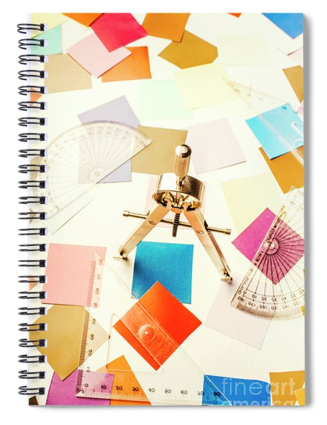 Architects Colour Pallet Spiral Notebook