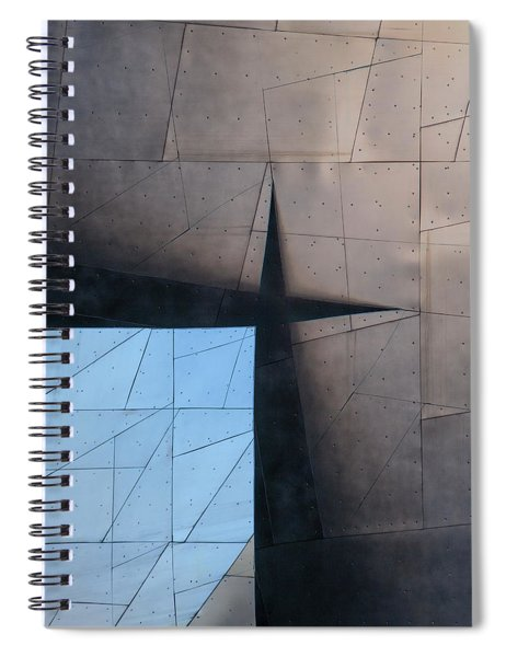 Architectural Reflections 4619a Spiral Notebook