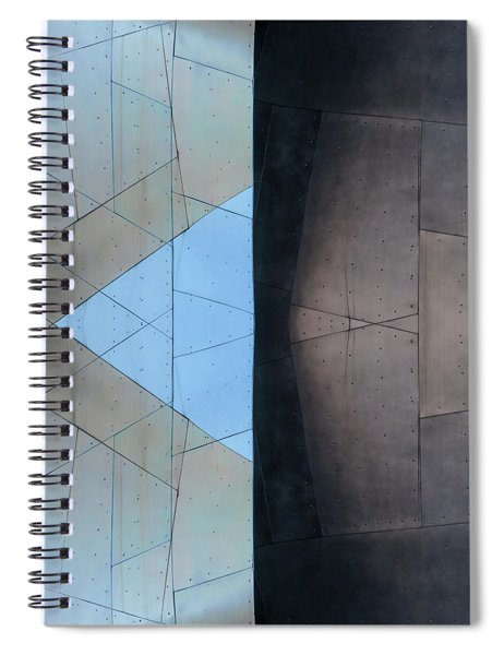 Architectural Reflections 4619d Spiral Notebook