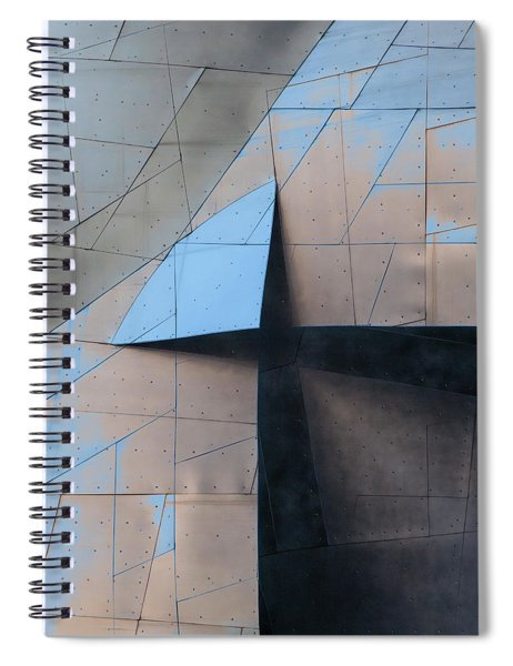 Architectural Reflections 4619f Spiral Notebook