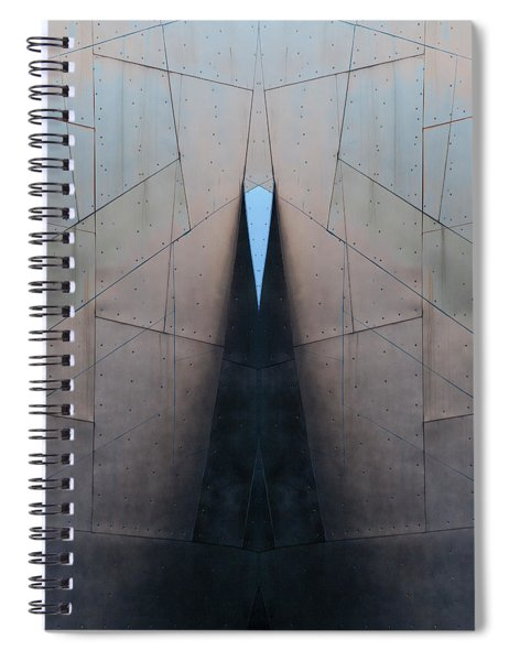 Architectural Reflections 4619j Spiral Notebook