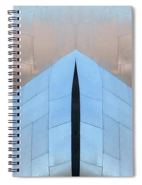 Architectural Reflections 4619k Spiral Notebook