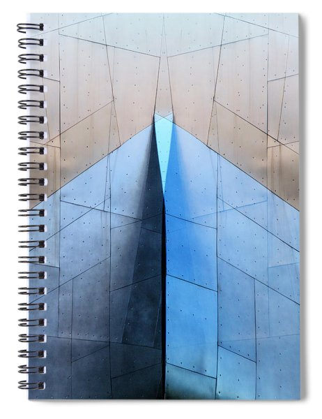Architectural Reflections 4619l Spiral Notebook