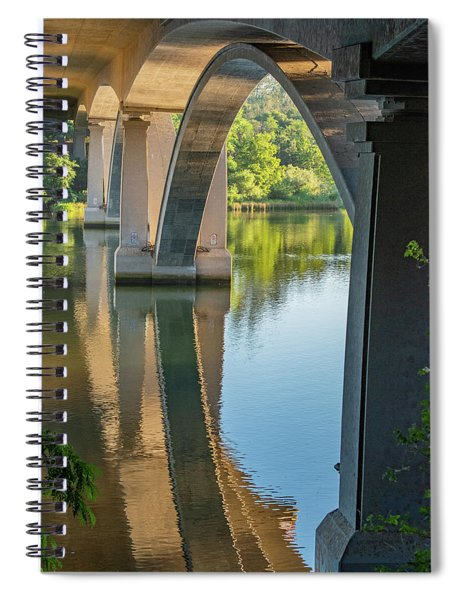 Archway Reflection Spiral Notebook