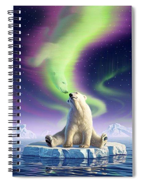 Arctic Kiss Spiral Notebook