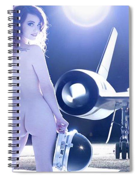 Area 71 My Blackbird Is Better Than Your Thunderbird Spiral Notebook