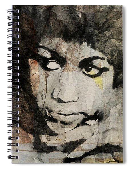 Aretha Franklin - Don't Play That Song For Me  Spiral Notebook