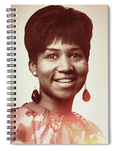 Aretha Franklin I Say A Little Prayer Spiral Notebook