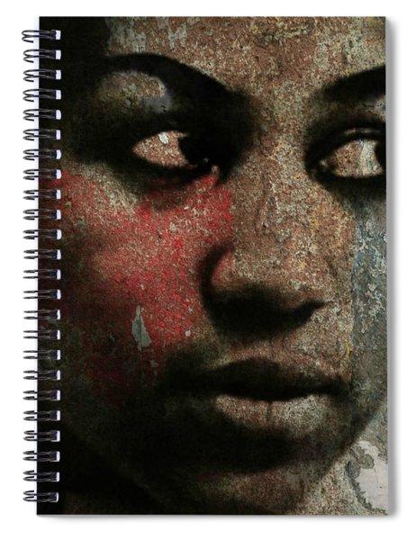 Aretha Franklin - Tribute Spiral Notebook