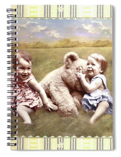Arial And Emily Spiral Notebook