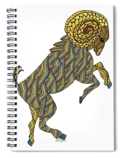 Aries Spiral Notebook