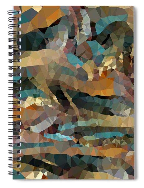 Arizona Triangles Spiral Notebook