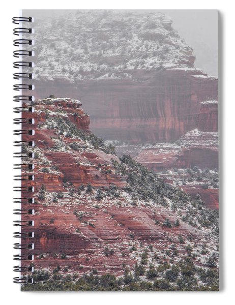 Arizona Winter Spiral Notebook