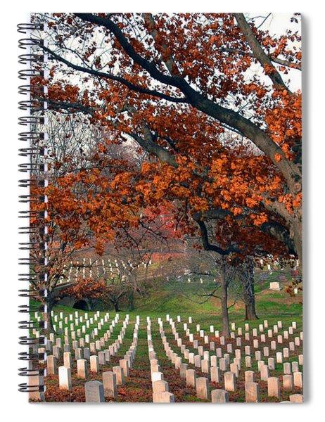 Arlington Cemetery In Fall Spiral Notebook