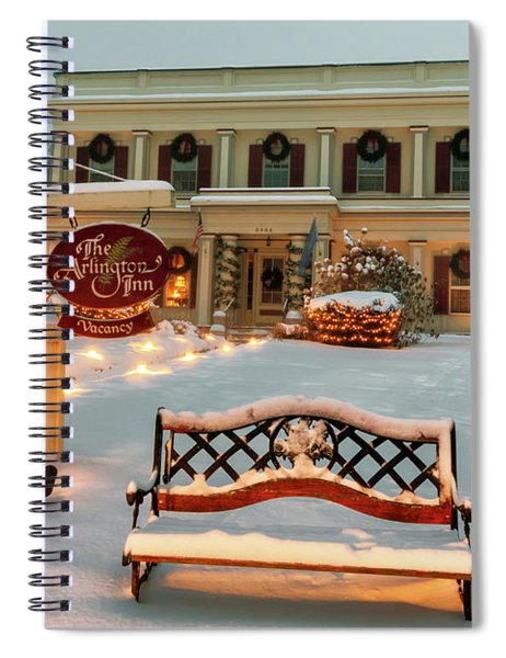 Arlington Inn Spiral Notebook