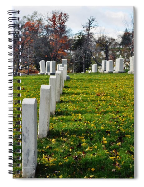 Arlington National Cemetery Hill Spiral Notebook