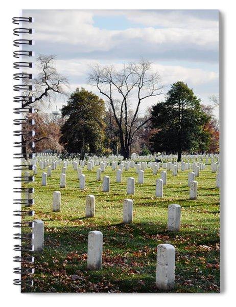Arlington National Cemetery Landscape Spiral Notebook