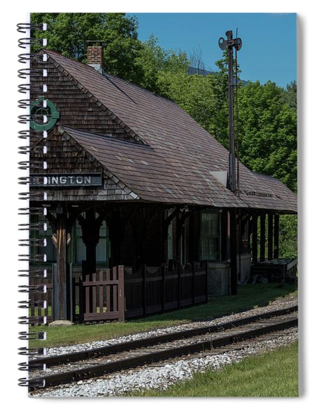 Arlington Station Spiral Notebook