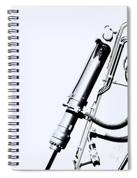 Arm Of Bleach Industrial Digger Spiral Notebook