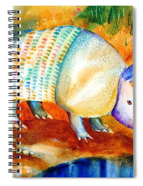 Armadillo Reflections Spiral Notebook