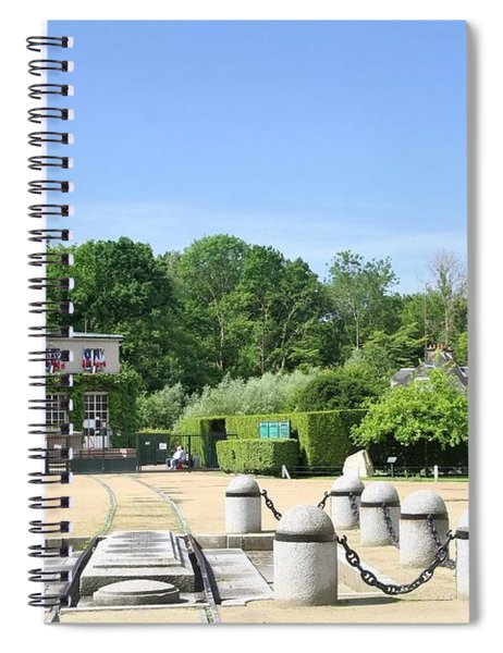 Armistice Clearing In Compiegne Spiral Notebook by Travel Pics