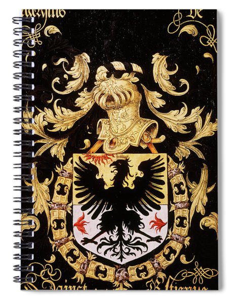 Armorial Plates From The Order Of The Golden Fleece - 5  Spiral Notebook